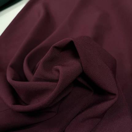 Тканина мадонна бордова, фото 2