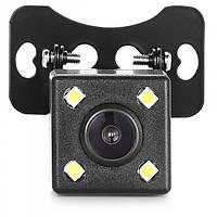 Автомобільна камера заднього виду в машину CAR CAM 707 + LED підсвічування з розміткою для паркування