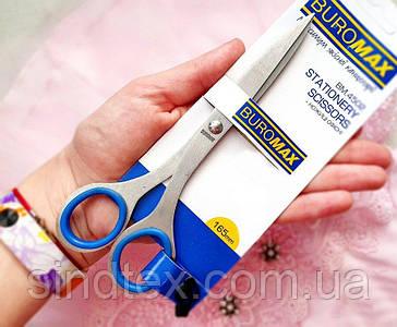 Ножницы офисные 16.5см (лезвие 6,5см) цельнометаллические (сп7нг-6366)