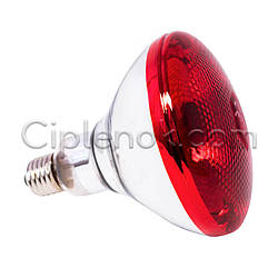 Лампа инфракрасная BR38 250 Вт красн. окраш. UFARM
