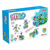 Конструктор Build&Play 5 в 1 с мотором 109 эл.   Конструктор-механик для детей   Развивающий конструктор