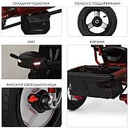 Велосипед трехколесный колясочного типа с игровой панелью M 3115HA-3L TURBOTRIKE, фото 3