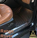 Тюнінг Range Rover Vogue (2013-2017) Килимки з Екошкіри 3D Тюнінг Ренж Ровер Вог, фото 5