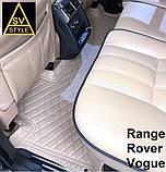 Тюнінг Range Rover Vogue (2013-2017) Килимки з Екошкіри 3D Тюнінг Ренж Ровер Вог, фото 6