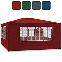 Садовый павильон шатер палатка тент 3х4 м 4 стенки альтанка для сада, фото 1