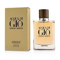 Acqua di Gio Absolu 2018/ мужская парфюмированная вода , 75 мл