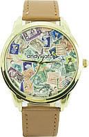 """Наручные часы AndyWatch """"Марки"""" AW 050"""
