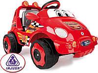 Электромобиль INJUSA Racing Car Bubble красный 7101