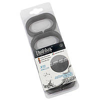 Кольца для шторки 12 шт. Bathlux Hojas 30015 132510