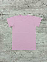 Детская розовая футболка 00661