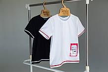 Молодіжна футболка для підлітка - SmileTime для хлопчика Upgrade, біла