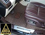 Кожаные Коврики Range Rover Sport (2014+) из Экокожи 3D  Коврики Рендж Ровер Спорт, фото 6