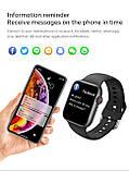 Смарт годинник T500 + Pro Watch 6 series Рожеві в стилі Apple Watch (Smart Watch) Розумні годинник Фітнес браслет, фото 5