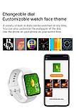 Смарт годинник T500 + Pro Watch 6 series Рожеві в стилі Apple Watch (Smart Watch) Розумні годинник Фітнес браслет, фото 7