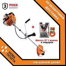 Бензиновая мотокоса (бензокоса) для травы Tex.AC TA-03-153 бензиновая косилка триммер