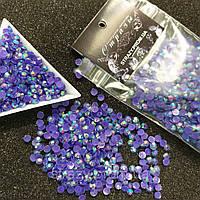 Стрази акрилові ss20 (5.0 мм) Purple velvet AB 1400 шт