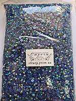 Стрази акрилові ss20 (5.0 мм) Sapphire AB 30000 шт
