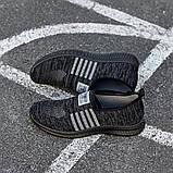 Чоловічі кросівки Гіпаніс KA 942 ЧОРНИЙ, фото 6