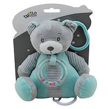 Плюшевая игрушка подвеска музыкальная Tulilo Медвежонок Польша