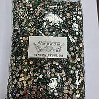 Стрази акрилові ss20 (5.0 мм) Emerald 30000 шт