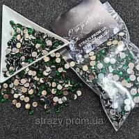 Стрази акрилові ss20 (5.0 мм) Emerald 1400 шт