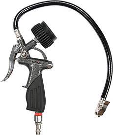 Насос-пистолет с манометром YATO YT-23701