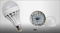 Светодиодная лампочка 9W E27, LED