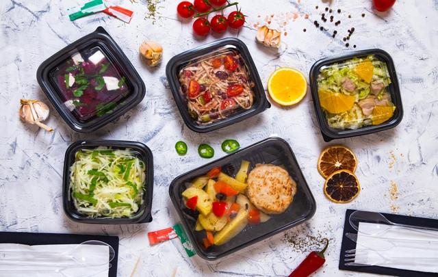 посуда одноразовая для еды фото