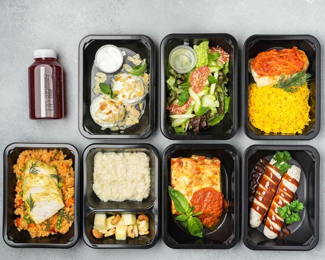 пластиковые контейнеры для еды на вынос фото