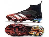 Футбольные бутсы adidas Predator Mutator 20+ FG Core Black/White/Active Red