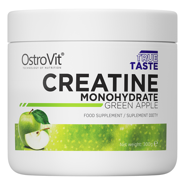 Креатин Creatine Monohydrate OstroVit 300 г Яблуко