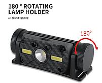 Потужний Налобний ліхтар Boruit B34 21700/18650 USB XM-L2 Датчик Руху АКУМУЛЯТОР В КОМПЛЕКТІ, фото 6
