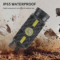 Мощный Налобный фонарь Boruit B34 21700/18650 USB XM-L2 Датчик Движения АККУМУЛЯТОР В КОМПЛЕКТЕ, фото 7