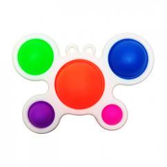 Антистресс игрушка-пупырка Симпл Димпл SM-DM-Cr Краб