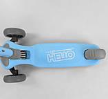 Самокат Hello D-0885 Best Scooter голубой, фото 3