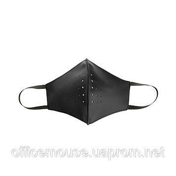 Маска для лица защитная кожаная VIF ЧЕРНЫЙ 252709