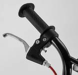 Самокат двухколесный Corso MX с ручным тормозом 10700, фото 4