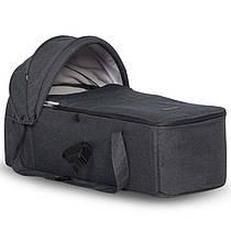Мягкая люлька к коляскам EasyGo Domino, Fusion, цвет Coal
