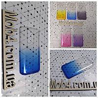 Чехол прозрачный Градиент для  LG G2