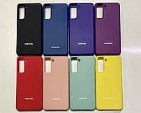 Брендовий чохол накладка Silicone Cover для Samsung Galaxy (Самсунг) S30