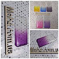Чехол прозрачный Градиент для  LG Q6