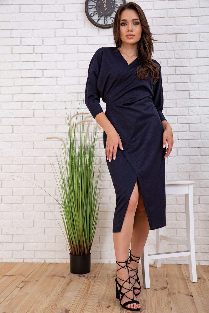 Платье 167R5-1-1 цвет Темно-синий