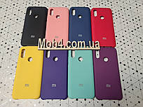 Брендовый Soft-touch чехол для Xiaomi (Ксиоми) Mi 8