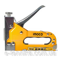 Степлер металевий 3-в-1 INGCO