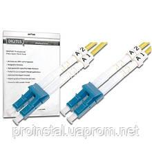 Оптический патч-корд DIGITUS LC/UPC-LC/UPC, 9/125, OS2, duplex, 1m