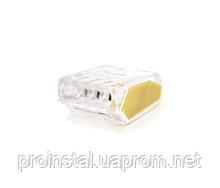Клемма соединительная 4-проводная PROinstal К773-254 для распределительных коробок, 4-pin, прозрачная