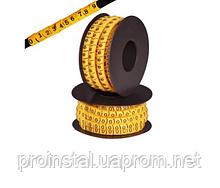 Маркер кабельный 4,(200 шт в упаковке),цена за упаковку
