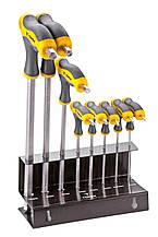 Набор ключей шестигранных TOPEX тип Т 2-10 мм, 9 шт.