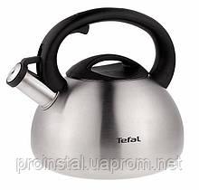 Чайник для газовых плит со свистком Tefal , нержавеющая сталь 2,5л