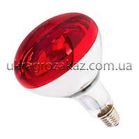 Лампа инфракрасная R125 175 Вт красн. окраш. UFARM